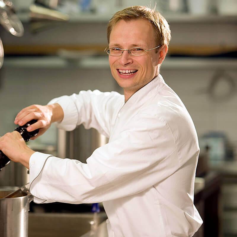 Küchenchef Gunter Ehinger