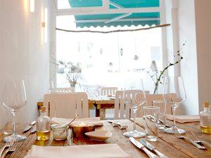 Sternerestaurant Jellyfish von innen