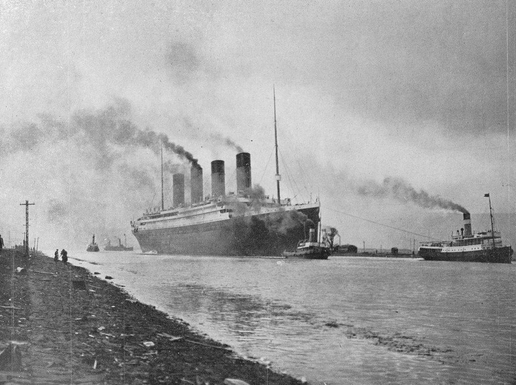 wann ist die titanic untergegangen